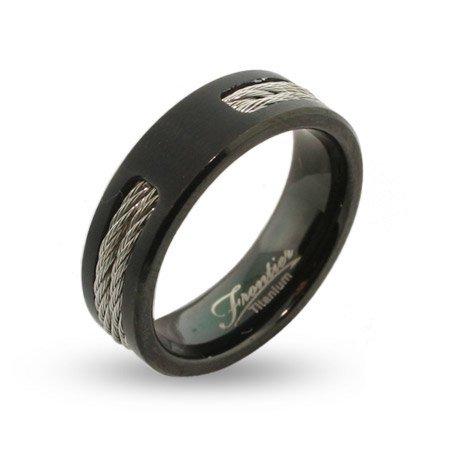 titanium wedding bands mens black titanium signet ring