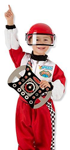 Melissa & Doug Race Car Driver Costume Set