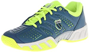 K-Swiss Men's Bigshot Light Tennis Shoe,Moroccan Blue/Neon Citron,10.5 M US