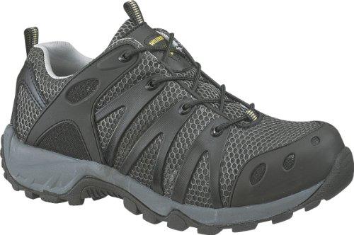 Wolverine Men'S Amherst Safety Toe Shoe,Black,10 M Us