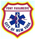 FDNY PARAMEDIC DECAL