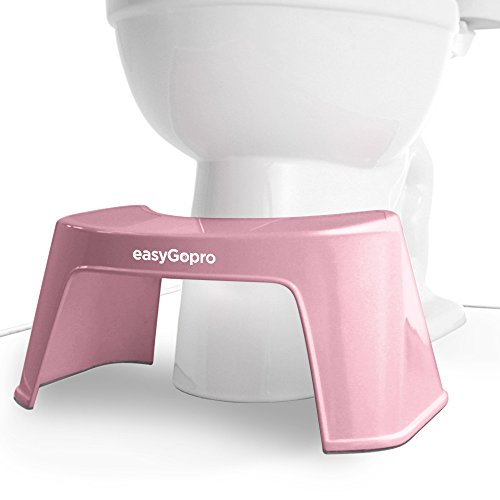 Easygopro 7 5 Quot Bathroom Toilet Stool Pedicure Foot Rest