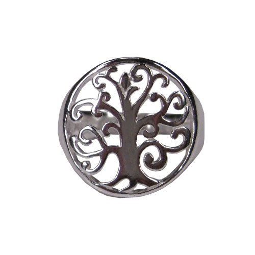 Tomas Sterling Silver Tree of Life Ring - 7