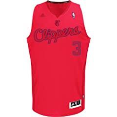 NBA Los Angeles Clippers Winter Court Big Color Swingman Jersey, #3 Chris Paul, Red by adidas