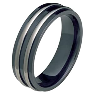 Black Wedding Rings For Him Clothing Shoes Jewelry Women Jewelry Wedding Engagement Wedding Rings