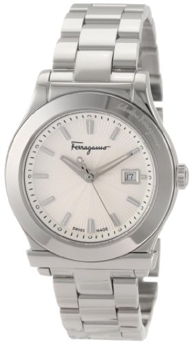 Ferragamo Women's F63SBQ9902 S099 1898 Steel Bracelet Date Watch