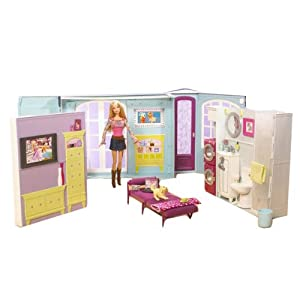 Barbie My House and Doll with 50 Accessories