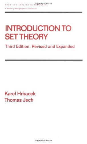 Mon premier blog page 3 introduction to set theory third edition revised and expanded pure and applied mathematics fandeluxe Gallery