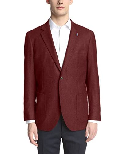 Tailorbyrd Men's Solid Wool Double Face Sport Coat