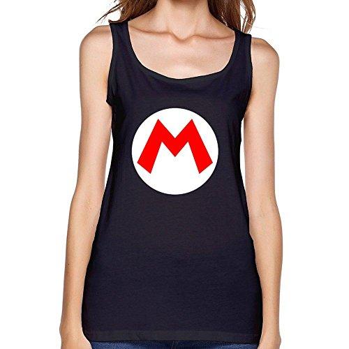 RONGBANG RONGBANG Women's Nintendo Super Mario Logo tank top Size XL