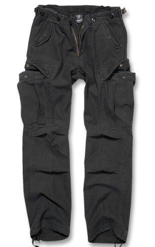 Brandit M65 Ladies Pantaloni Donna Pantaloni Cargo B-11001 - cotone, Nero, 100% cotone, Donna, 30W