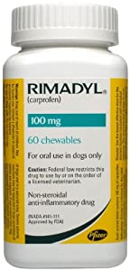 Rimadyl Chewables - 100 mg - 60 count