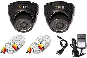 Q-See QM6007D Weatherproof Dome Camera (2PK)