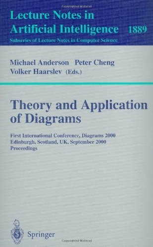 Theory and Application of Diagrams: First International Conference, Diagrams 2000, Edinburgh, Scotland, UK, September 1-3, 2000 Proceedings (Lecture Notes … / Lecture Notes in Artificial Intelligence)