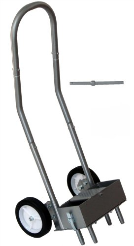 Step 'N Tilt Lawn Core Aerator 2 with Container (All New 2013 Model)