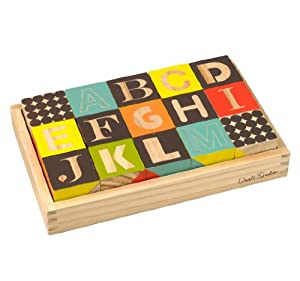 DwellStudio Wooden Blocks