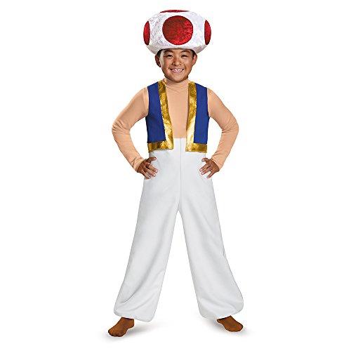 Super Mario Bros Toad costume