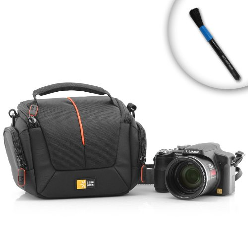 Compact, Premium QuickCase for the Olympus SP-800UZ, Evolt E620, and PEN E-PL1 Cameras and More - With Reinforced Nylon and Nylex For Superior Protection, Includes Camera Cleaning Brush