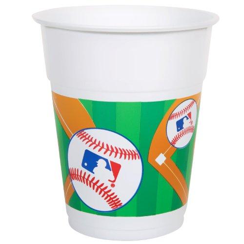Amscan MLB Plastic Cups, 16 oz.