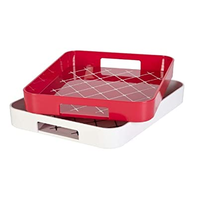 No-Slip Gallery Serving Tray