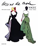 Dessins de mode, Vogue, 1923-1983...