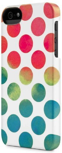 Incase Dots Snap Case for iPhone 5 - Textured Dots White - CL69193 by Incase [並行輸入品]