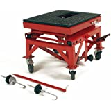 300 LB Hydraulic Scissor Lift Motorcycle Jack Stand