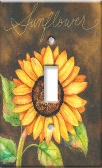 Images for Sunflower Switch Plate - Outlet Cover
