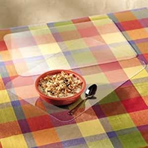 CLEAR TABLE PLACEMATS