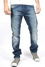 Mens Diesel Thavar 0885W Straight Leg Jeans