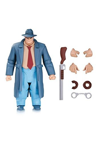DC Collectibles Batman: The Animated Series: The New Batman Adventures: Harvey Bullock Action Figure by DC Collectibles