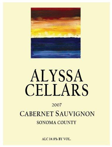 2007 Alyssa Cellars Sonoma County Cabernet Sauvignon 750 Ml