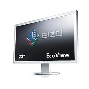 Eizo EV2336WFS3-GY 58,4 cm (23 Zoll) LED-Monitor (Display Port, DVI, VGA, USB, 6ms Reaktionszeit) Grau