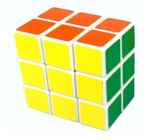 LanLan® 3x3x2 Speed Cube Puzzle Brain Teaser White