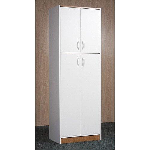 Pantry Cabinet: Door Pantry Cabinet With Tall Narrow Door