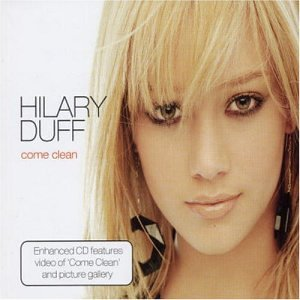 Original album cover of Come Clean by Hilary Duff