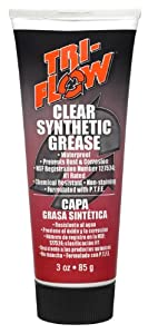 Tri-Flow TF23004 Clear Synthetic Grease - 3 oz. Tube by Tri-Flow