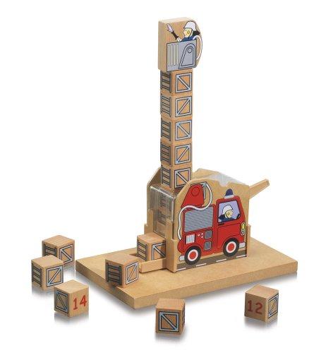 Imagen 2 de Eichhorn 100004901 - Juego de construcción con números (20 x 12 cm, 19 piezas) (Simba Dickie)
