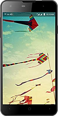 Wind 1 4G LTE Smart Phone, Black