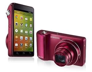 Samsung Galaxy Camera Appareil photo numérique compact 16,3 Mpix Zoom optique 21x Wifi Rouge