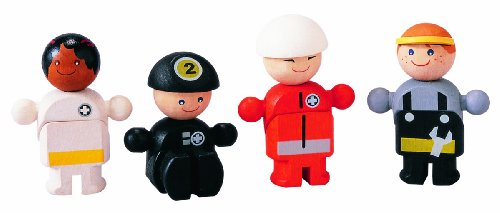 Plan Toys City Series Rescue Crew