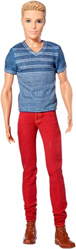 Barbie Fashionistas Ken Doll, Red Jeans and Blue Tee