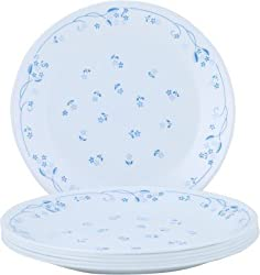 Corelle Essential Series Privincial Medium Printed Glass Plate Set of 6