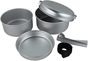 Yellowstone Aluminium 5 Piece Cook Set