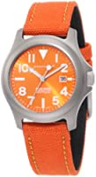 Momentum Women's 1M-SP01O6O Atlas Orange Dial Orange Cordura Watch from Momentum