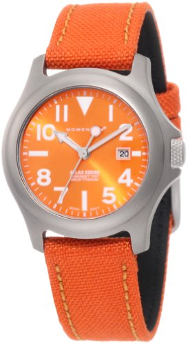 Momentum Ladies 1M-SP01O6O Atlas Orange Dial Orange Cordura Watch