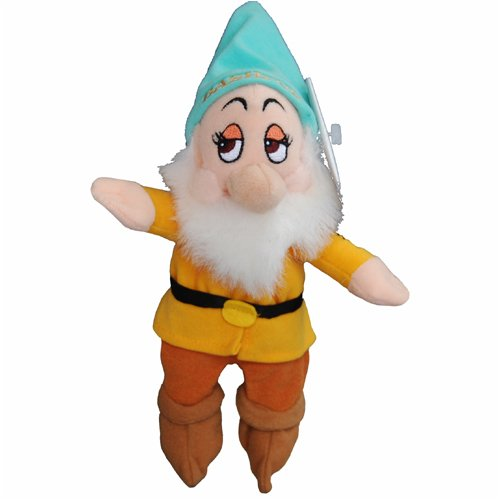 Bashful - Snow White Dwarf - Disney Mini Bean Bag Plush