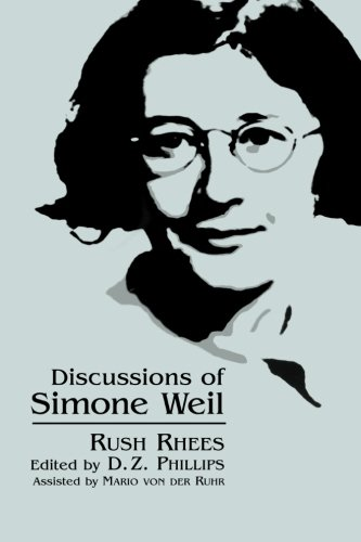Discussions of Simone Weil (SUNY series, Simone Weil Studies ) PDF