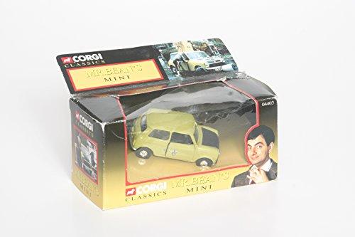 Corgi 1/36 Scale diecast - 04403 Mr Bean's Mini Rowan Atkinson lime (Mr Bean Car compare prices)