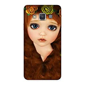 Tini Doll Multicolor Back Case Cover for Galaxy A3